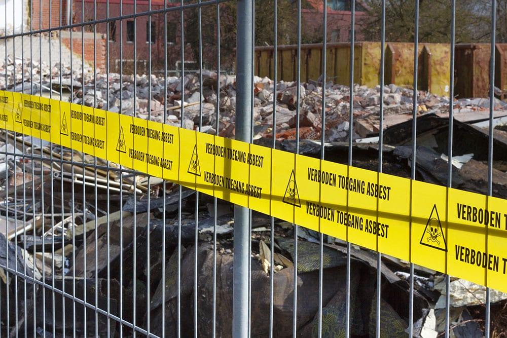 Milieu Control sloopwerkzaamheden Groningen