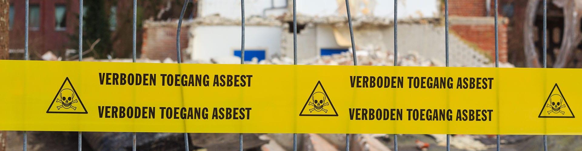 Milieu Control NL asbestsanering in Utrecht