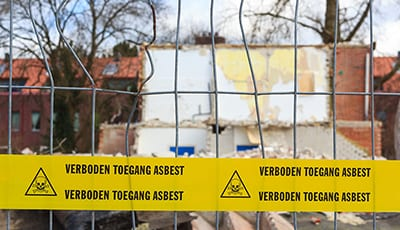 Asbestsanering door Milieu Control in Flevoland
