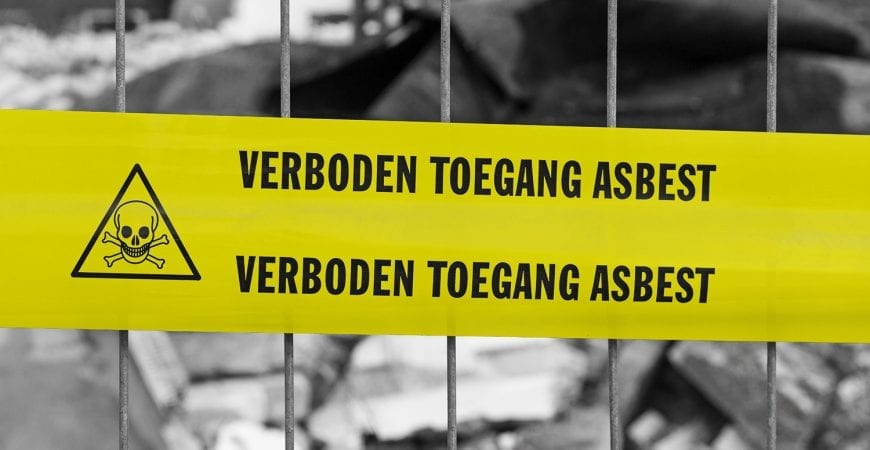 Asbestverbod van de baan   Blog   Milieu-Control
